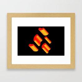 Hot Rods Framed Art Print