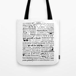 modern mamafesto  Tote Bag