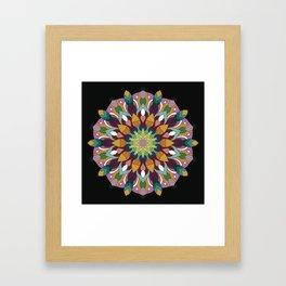 Mandala Returning Framed Art Print