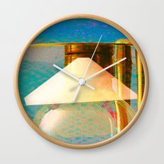 Tétrodlabel Wall Clock
