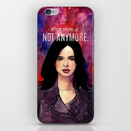 Jessica Jones iPhone Skin