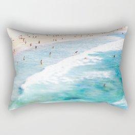 Lazy Daze at Bondi Rectangular Pillow