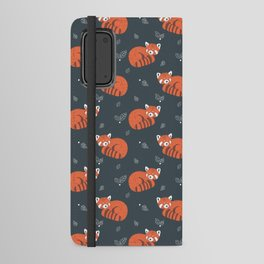 Red Panda Pattern Android Wallet Case