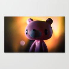 A gloomy Bear ! Canvas Print