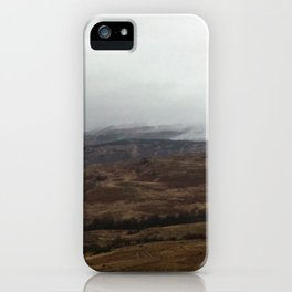 The mist rolling in iPhone Case