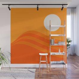 Swell - Orange Crush Wall Mural