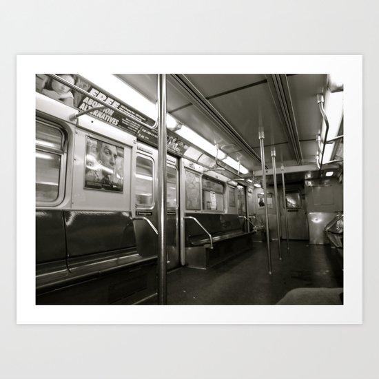 transit Art Print