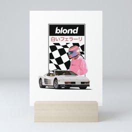 Frank Blond White Fer Mini Art Print