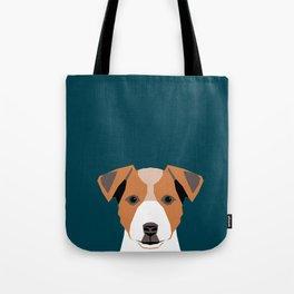 Bailey - Jack Russell Terrier phone case art print gift for dog people Jack Russell Terrier owners Tote Bag