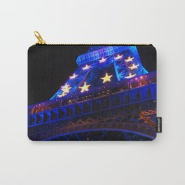 The Eiffel Tower's Illuminations Carry-All Pouch