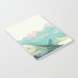 Mountains Landscape Watercolor Notebook