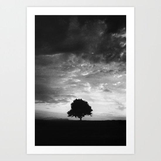 Outlines (IV) - Solitude Art Print