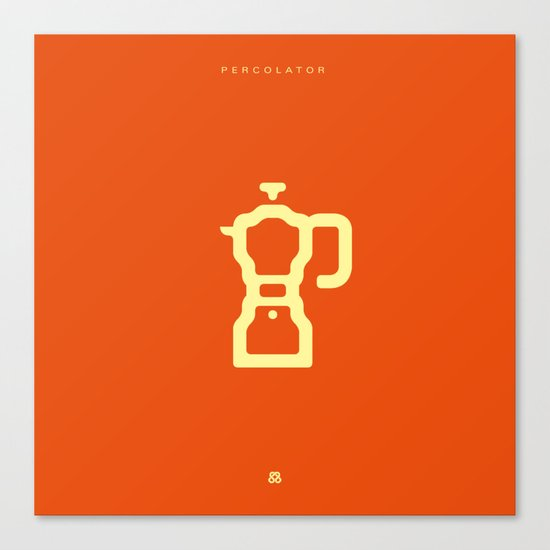 Coffee: The Percolator Canvas Print