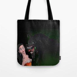 Howl-itosis: need a mint? Tote Bag