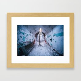 Abandoned Prison Framed Art Print