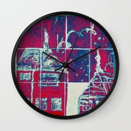 Up On A Roof: #26 from children will play.  Wall Clock
