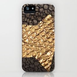 Golden Star on Mesh iPhone Case
