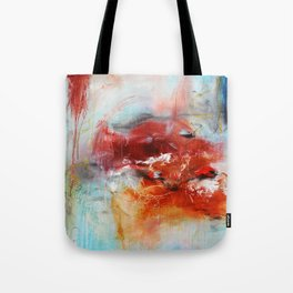 Abstract Digital Art from Original Painting Tote Bag