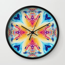 Moroccan Two Wall Clock