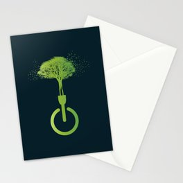 Lights OFF, Life ON Stationery Cards