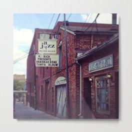 Blues Alley (Washington, DC) Metal Print