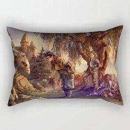 Back at Hogwarts Rectangular Pillow