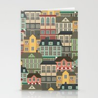 urban Stationery Cards featuring Urban by Julia Badeeva