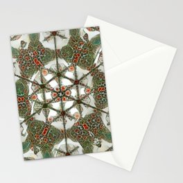Abstruse Lines Kaleidoscope Stationery Cards
