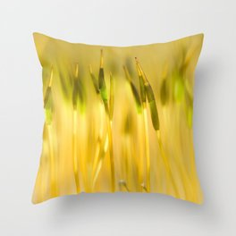 Colorful sprouts Throw Pillow