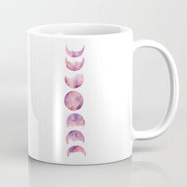 Lavender Rose Moon Phase Coffee Mug