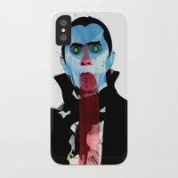 vampire diaries iPhone & iPod Cases featuring Vampire by Alvaro Tapia Hidalgo