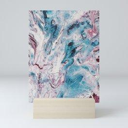 Turquoise Avalanche Mini Art Print