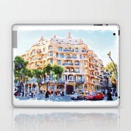 La Pedrera Barcelona Laptop & iPad Skin