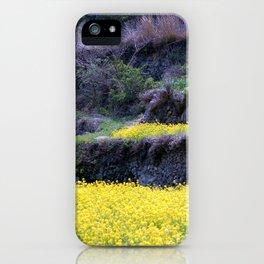Rape Flowers 2 iPhone Case