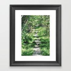 Happy Trails Framed Art Print
