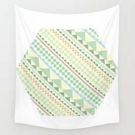 Textile Hexagon Wall Tapestry
