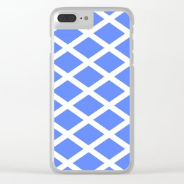 abstraction from the flag of scotland. Clear iPhone Case