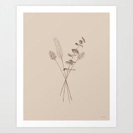 Bunny tails Art Print