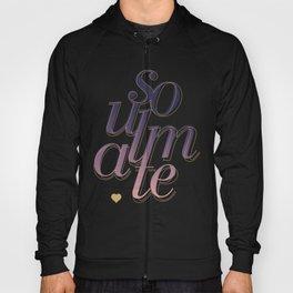 Soulmate Pink #society6 #decor #buyart Hoody