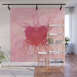 The roots of my heart Wall Mural