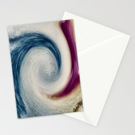 Kicking The Wave Stationery Cards