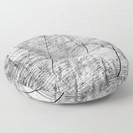 Cracks in timber Textures 3 Floor Pillow