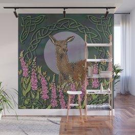 Celtic Deer Wall Mural