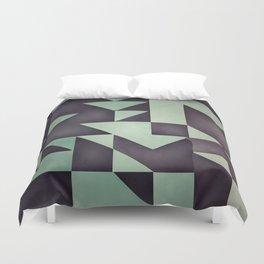 :: geometric maze VIII :: Duvet Cover