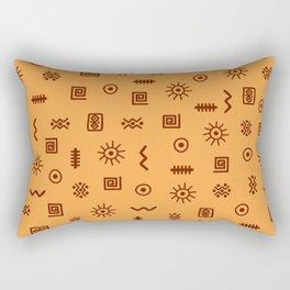 African 2 Rectangular Pillow