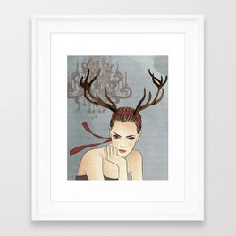 Costume Party 1 Framed Art Print