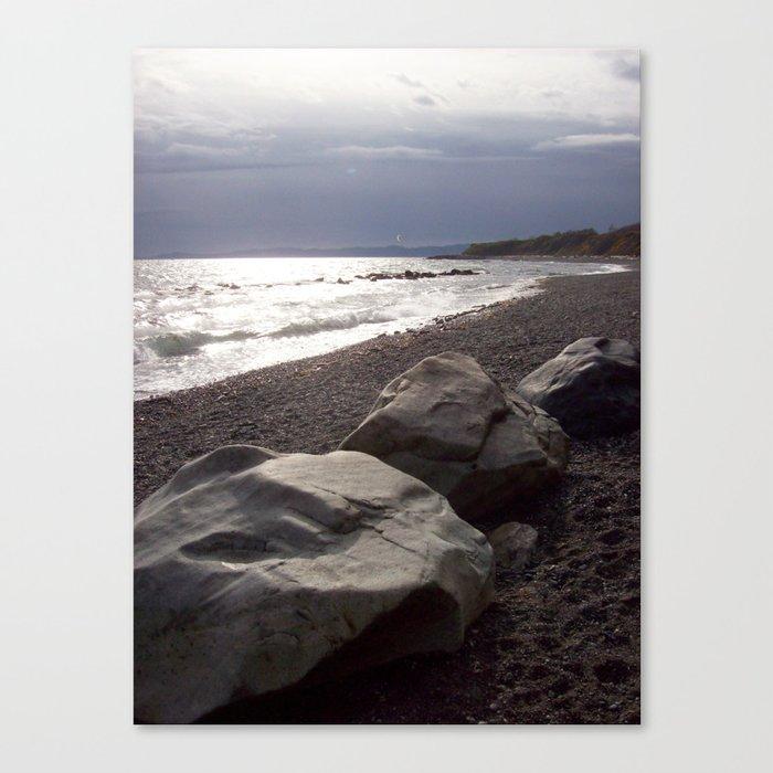 Three Stones Canvas Print