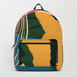 Memphis design style  Backpack
