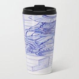 The Cajun Gator_Chillaxing Travel Mug