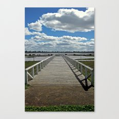 Natimuk Pier Canvas Print